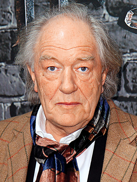 Michael Gambon | Age 70 Next Appears with Dustin Hoffman and Nick Nolte on HBO's upcoming racetrack drama Luck .