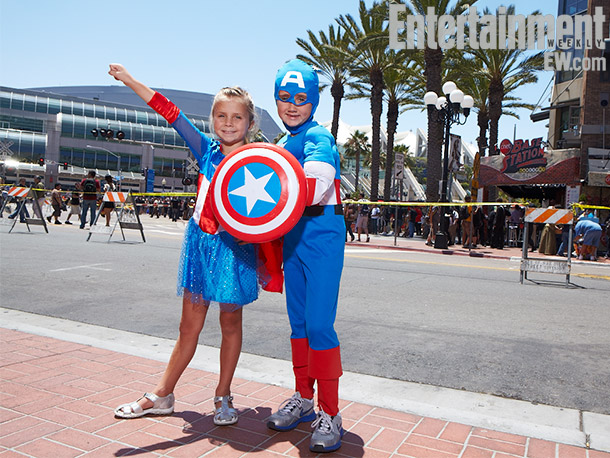 Little Captain America costumes