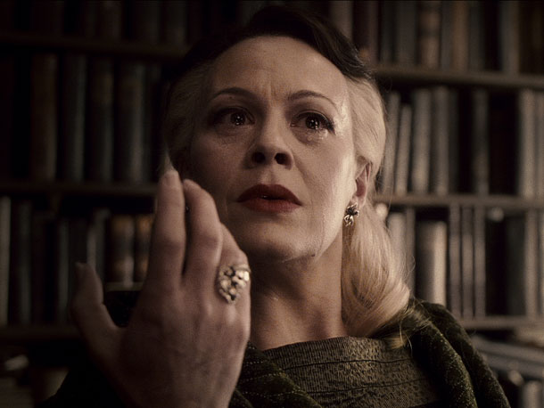 Helen McCrory, Harry Potter and the Half-Blood Prince   ''I had no idea what amount of expectation there was in playing the role until I went to a premiere for the first time and…