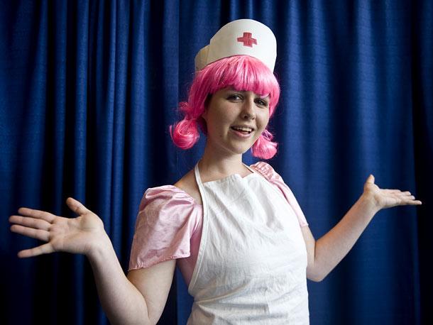Rachel Grady as Nurse Joy from Pokemon