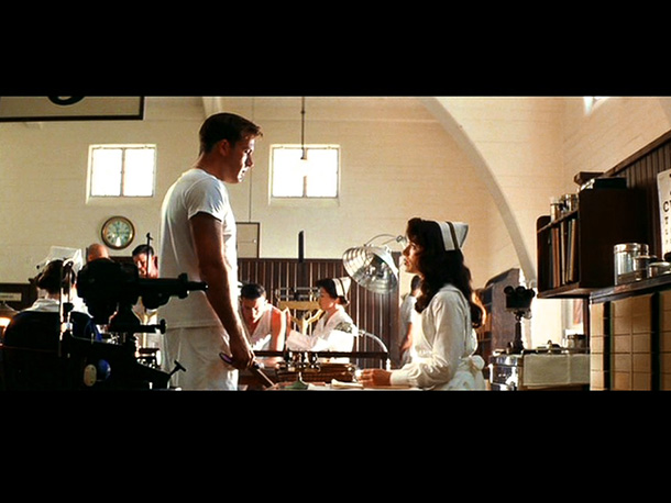 Pearl Harbor, Kate Beckinsale | Rafe is a great pilot, but he's also a kid who can't read good. Fortunately, an attractive nurse named Evelyn lets him pass his eye…