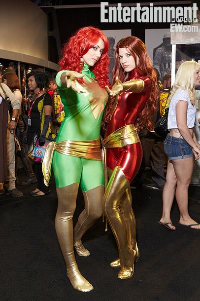 Brianna Brock and Amanda Shafer (The Phoenix costume)