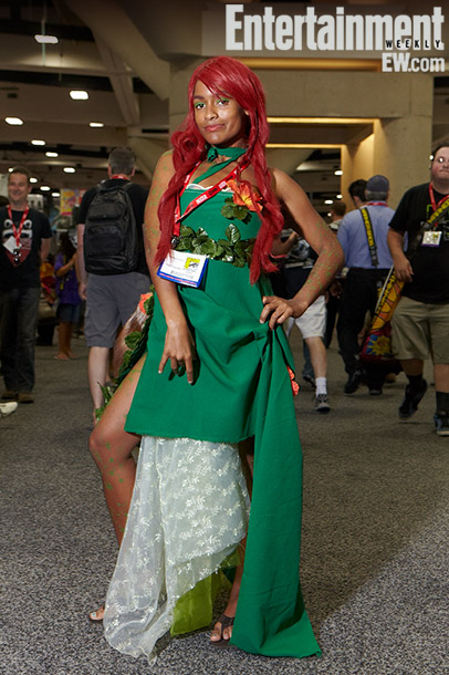 Ashford Jacoway (Poison Ivy costume)