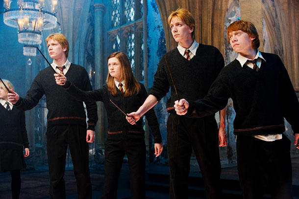 Harry Potter and the Order of the Phoenix   ''[At Leavesden Studios], Rupert Grint and my brother [James] and I would hang out at the driving range downstairs quite a bit. I mean, I…