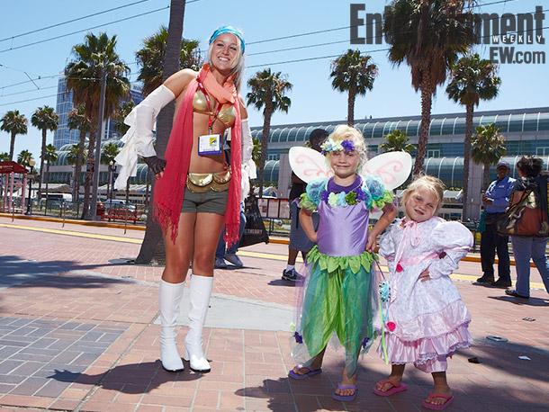 Final Fantasy Rikku and fairies costumes