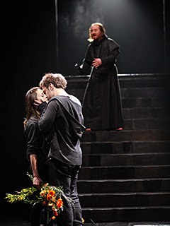 Romeo and Juliet | ROMEO AND JULIET Mariah Gale, Sam Troughton, and Forbes Masson