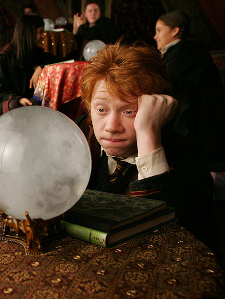 Rupert Grint, Harry Potter and the Prisoner of Azkaban   ''[ Prisoner of Azkaban director] Alfonso Cuarón asked us to write essays about our characters. I didn't do mine, because I didn't think Ron would.…
