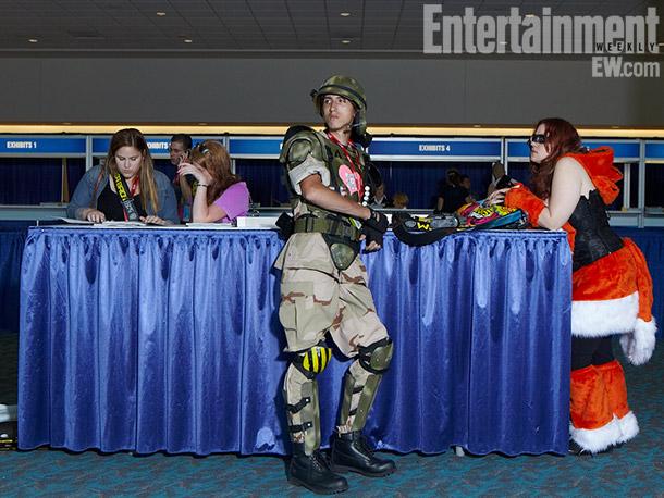 Alien Space Marine costume