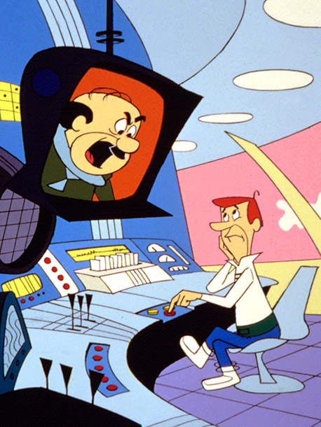 The Jetsons | Why I'd quit: Can you imagine the ulcers and high blood pressure that would result from someone screaming your name and ''You're fired!'' every 5…