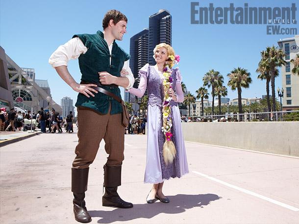 Tangled Flynn and Rapunzel costume