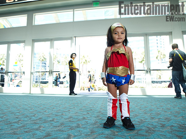 Little Wonder Woman (girl) costume