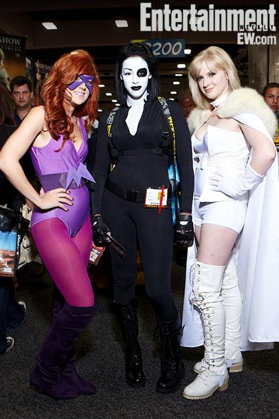 Tamara Climek, Carmen Axle, and Jessica Cryderman