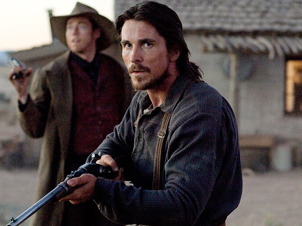 Christian Bale, 3:10 to Yuma | This earnest Wild West good guy had one really earnest beard.