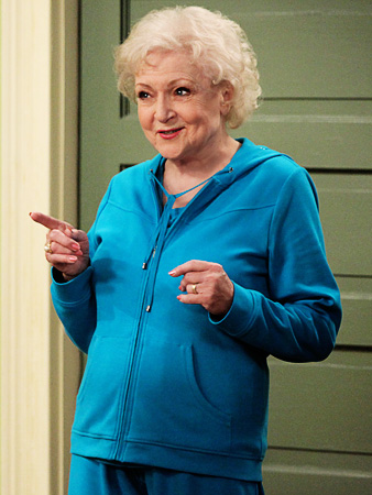 It's Betty White: Hand it over already! Should win: Julie Bowen , of course! Click for our printable Emmy ballot.