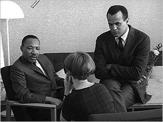 Harry Belafonte, Martin Luther King Jr., ... | DOCUMENTING A MOVEMENT Martin Luther King and Harry Belafonte in The Black Power Mixtape 1967-1975