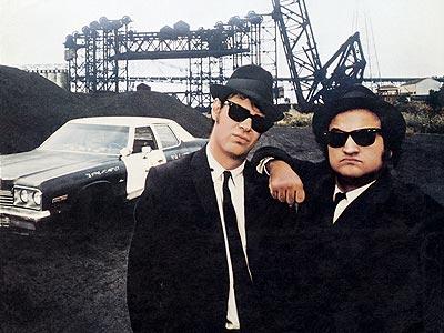 Dan Aykroyd, John Belushi, ... | Why the Bluesmobile? Ask Elwood: ''It's got a cop motor, a 440 cubic inch plant, it's got cop tires, cop suspensions, cop shocks. It's a…
