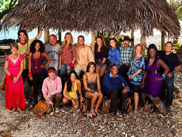 Survivor: South Pacific | SURVIVOR: SOUTH PACIFIC Kneeling/seated: John Cochran, Elyse Umemoto, Mikayla Wingle, Albert Destrade Back row: Dawn Meehan, Keith Tollefson, Semhar Tadesse, Mark-Anthony Caruso, Whitney Duncan, Jim…