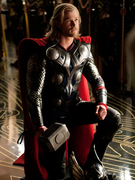 Chris Hemsworth, Thor | Yes, beards are kind of de rigueur for all sort-of Norse gods, and for that we are thankful.