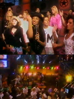 It was the show that gave us Downtown Julie Brown and a dance party that everyone wanted to join in. Think American Bandstand 's club-going…