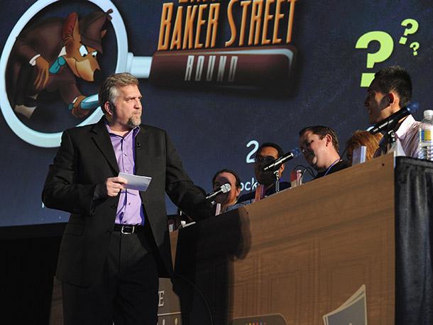 Daniel Roebuck (Lost) hosted the Ultimate Disney Trivia Tournament.