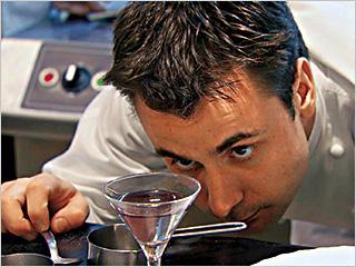 El Bulli | CULINARY CREATIONS Chef Eduard Xatruch at work in El Bulli