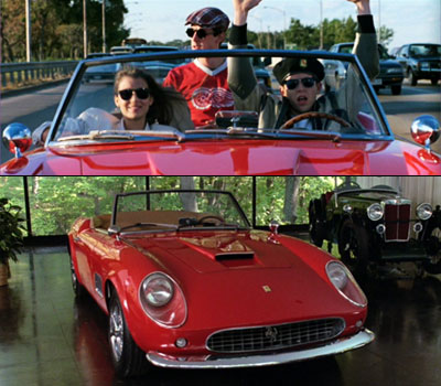 Ferris Bueller's Day Off | That sweet, sweet ride helped give Ferris and his friends their awesome hooky day, bore witness to one spectacular meltdown, and paid the ultimate price.
