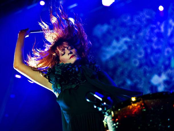 Florence + the Machine | The Brit siren's much-anticipated sophomore album was produced by Paul Epworth (Adele), who recently tweeted that it ''sounds live in ways and like a machine…