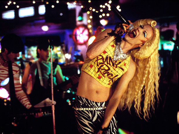 Hedwig and the Angry Inch | Even though Hansel's sex change operation didn't quite happen, he went on to make for one convincingly sexy rock chick. — AW