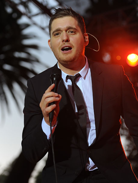 Michael Buble | The Canadian crooner's aptly titled holiday album includes ''Blue Christmas,'' ''All I Want for Christmas Is You,'' a duet with Shania Twain on ''White Christmas,''…