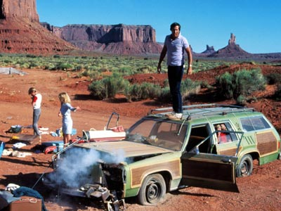 Chevy Chase, Beverly D'Angelo, ... | Yes, it's a station wagon. But the Family Truckster is also functional (strapping a dead aunt to the roof) and a chick magnet (hello, Ms.…