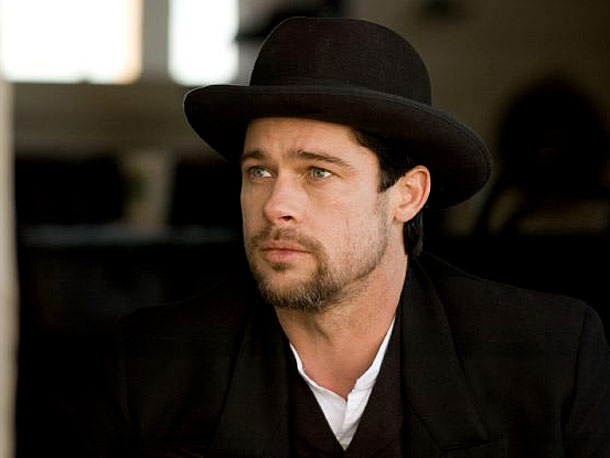 Brad Pitt, The Assassination of Jesse James by the Coward Robert Ford | Jesse James may have gotten himself into a number of hairy situations, but his look wasn't one of them.