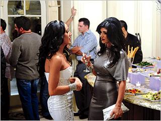 Teresa Giudice, The Real Housewives Of New Jersey | The Real Housewives of New Jersey 's Melissa Gorga and Teresa Giudice