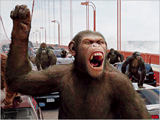 Rise of the Planet of the Apes | MONKEYING AROUND Caesar in Rise of the Planet of the Apes