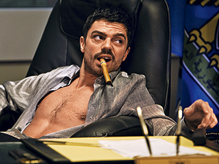 Dominic Cooper   HOUSE OF SADDAM Dominic Cooper in The Devil's Double