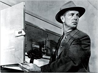 Sterling Hayden, The Killing | DARING CROOK Sterling Hayden in The Killing