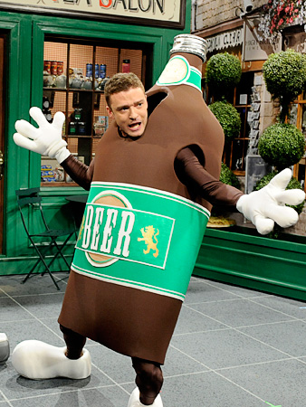 Guest actor in a Comedy Will Win: Justin Timberlake, Saturday Night Live