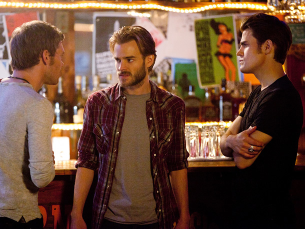 Joseph Morgan (Klaus), David Gallagher (Ray), and Paul Wesley (Stefan)