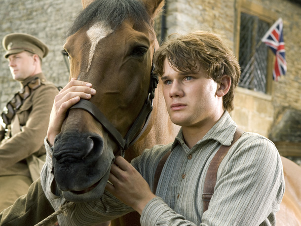 War Horse, Jeremy Irvine | Starring Jeremy Irvine, Peter Mullan Directed by Steven Spielberg, PG-13 Over the years, Steven Spielberg has worked with some unusual protagonists: sharks, extraterrestrials, robots. But…