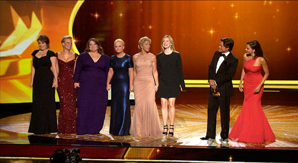 Emmy Awards | When Amy Poehler initially walked up and onto the stage after her name was announced in 2011's Best Actress in a Comedy category, it was…
