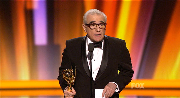 Emmy Awards   Martin Scorsese won his first-ever Emmy Award for directing the pilot of HBO's Boardwalk Empire . He threatened to speak faster than usual in order…