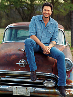 Blake Shelton | DOWN-HOME HOMEBODY Shelton shows a softer side on his latest