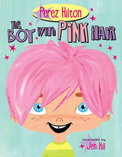 Boy With Pink Hair