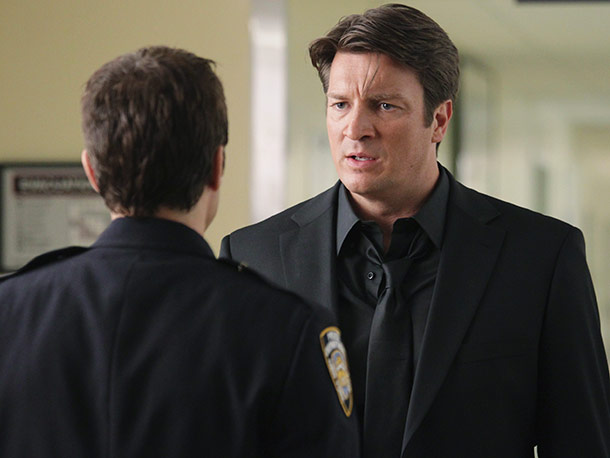 Seamus Dever and Nathan Fillion