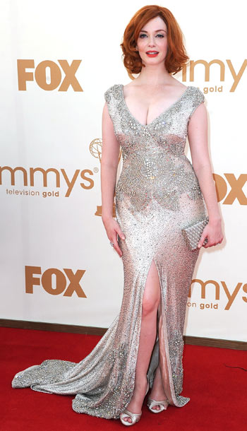 Christina Hendricks in Johanna Johnson