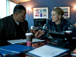 Contagion | DEADLY DISEASE Laurence Fishburne and Kate Winslet are doctors dealing with the outbreak in Contagion