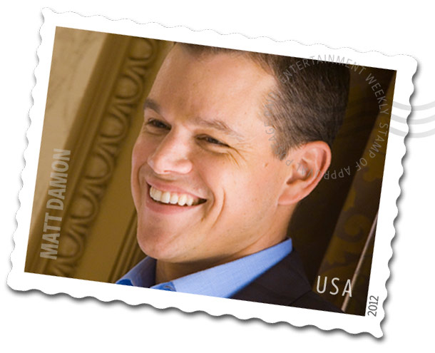 Matt Damon | We're exceptionally keen on the idea of a Matt Damon stamp, as you could have an entire series ( Bald Matt Damon , Regular Matt…