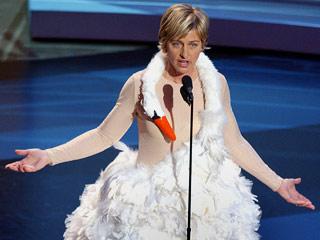 Ellen Degeneres Swan Emmys