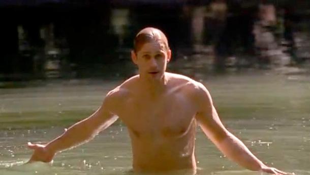 Best Scene Involving a Body of Water Alexander Skarsgard, True Blood