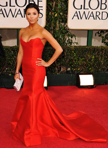Golden Globe Awards 2009, Eva Longoria | The spotlight will be on the Desperate Housewife as the show enters its final season, which gives Longoria every reason to wow.