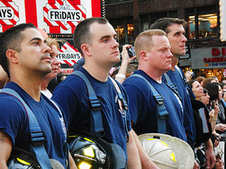 Firefighters Broadway